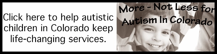 Click here to help Autistic Children in Colorado Keep Life-Changing Services
