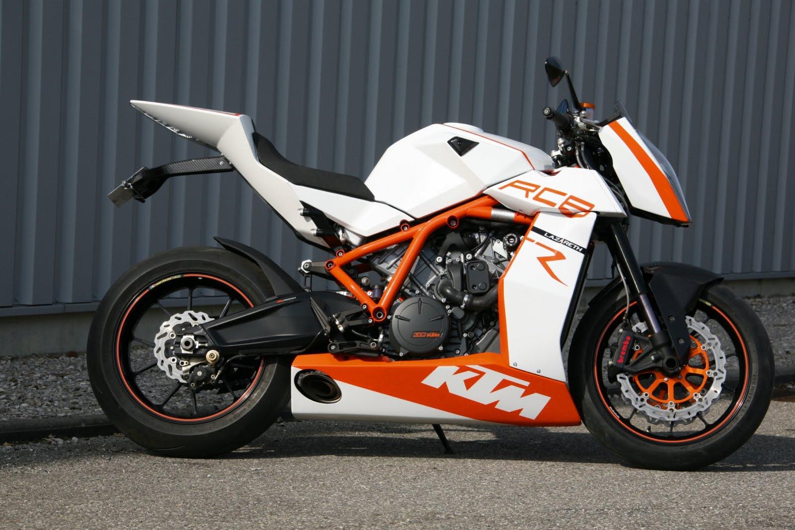 KTM RC8 Naked - ktm