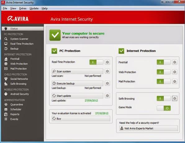 Download Avira Internet Security 2015 14.0.7.342