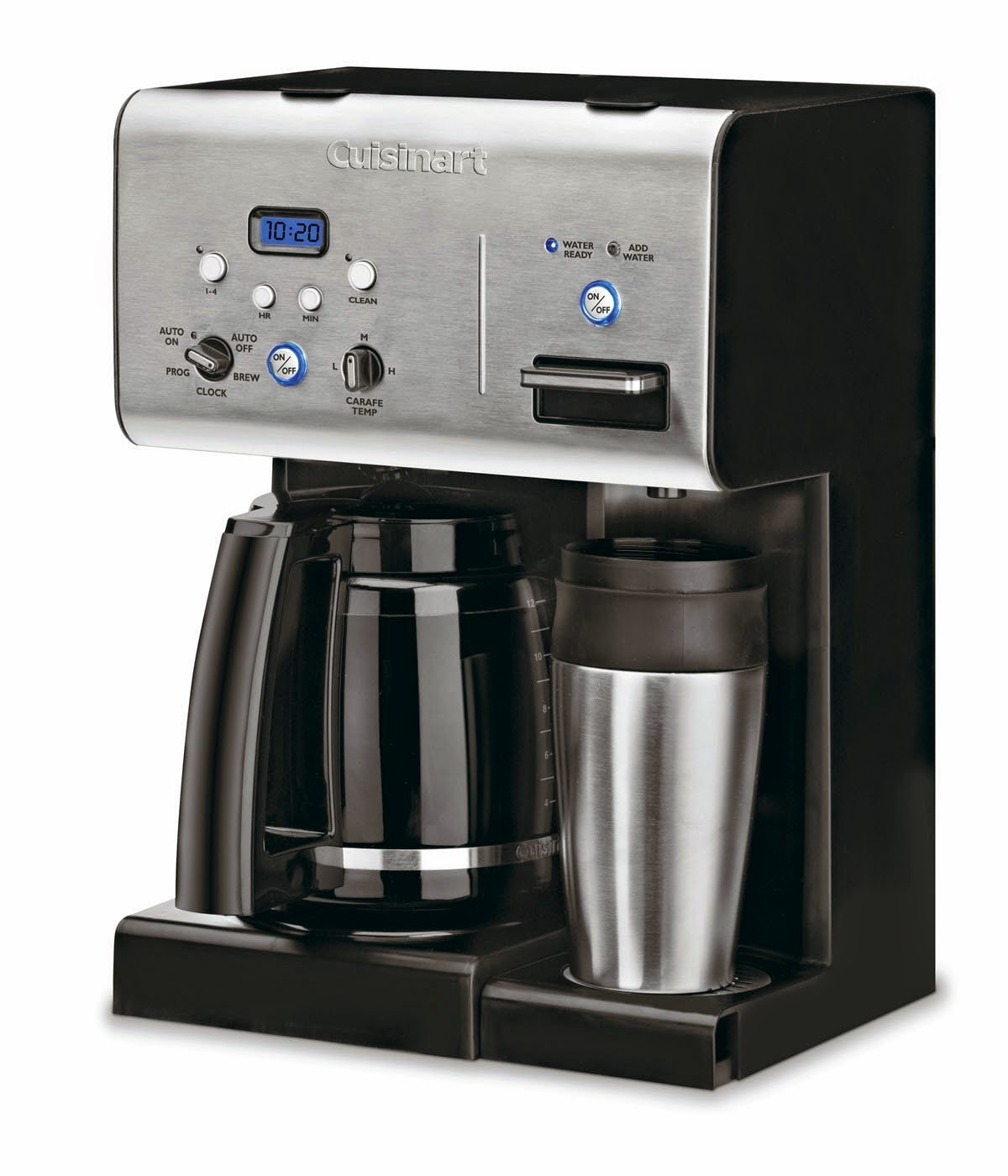 Featuring A Gl Carafe With Drip Free Spout The Cuisinart Chw 12 Also Has Very Convenient Self Clean Function And Its Own Hot Water System