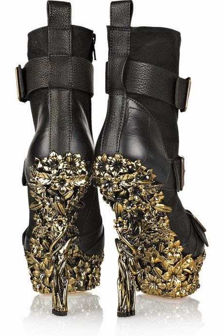 Alexander McQueen 2013 Fashion High Heels