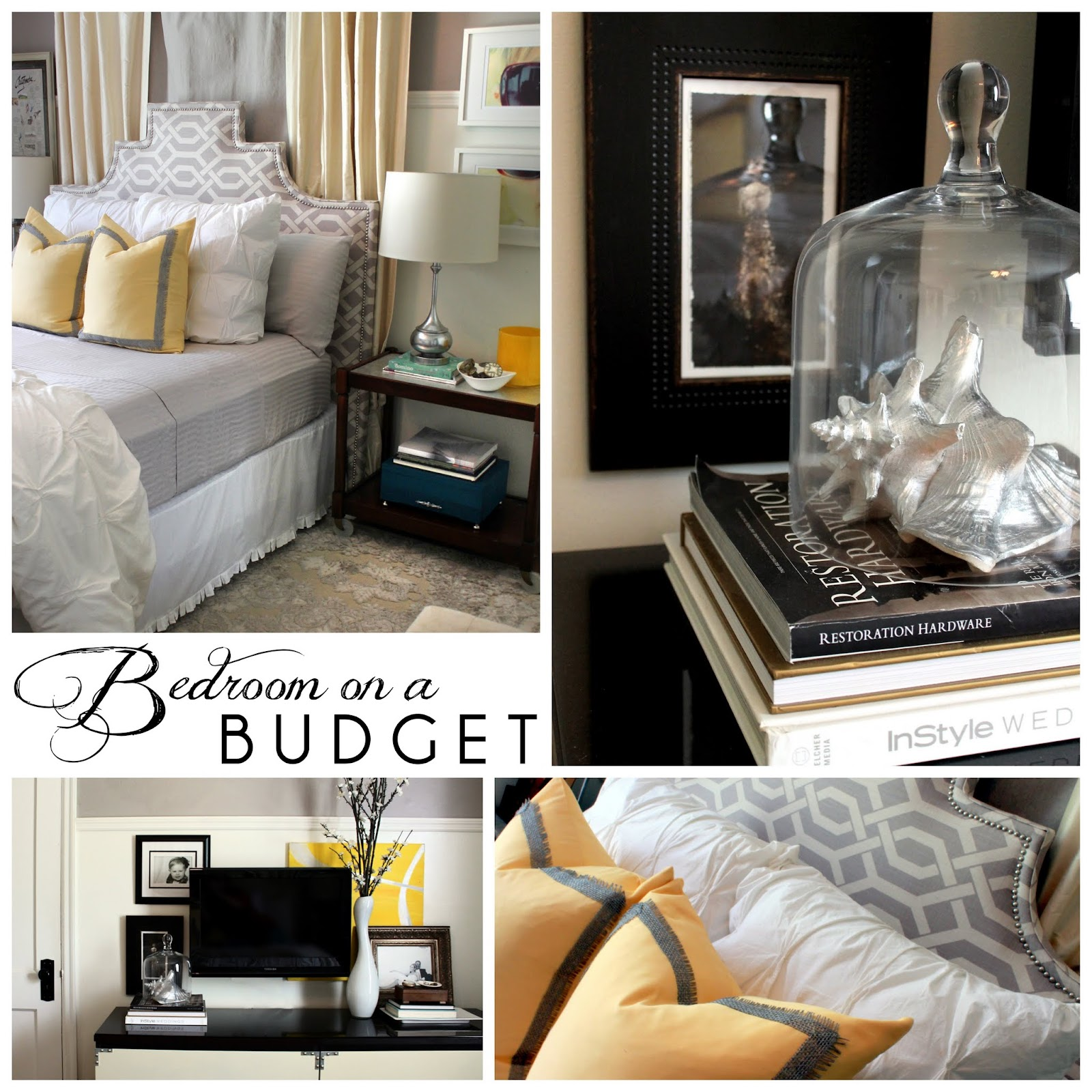 hunted interior bedroom on a budget