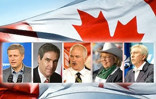 Chez Chiara: May 2: Canadians Get Out and Vote!--Preferably for a ...