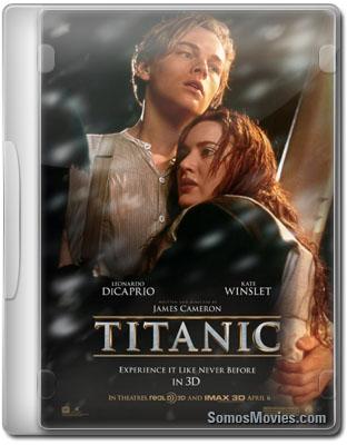Poster Titanic 3D (1997) 2012