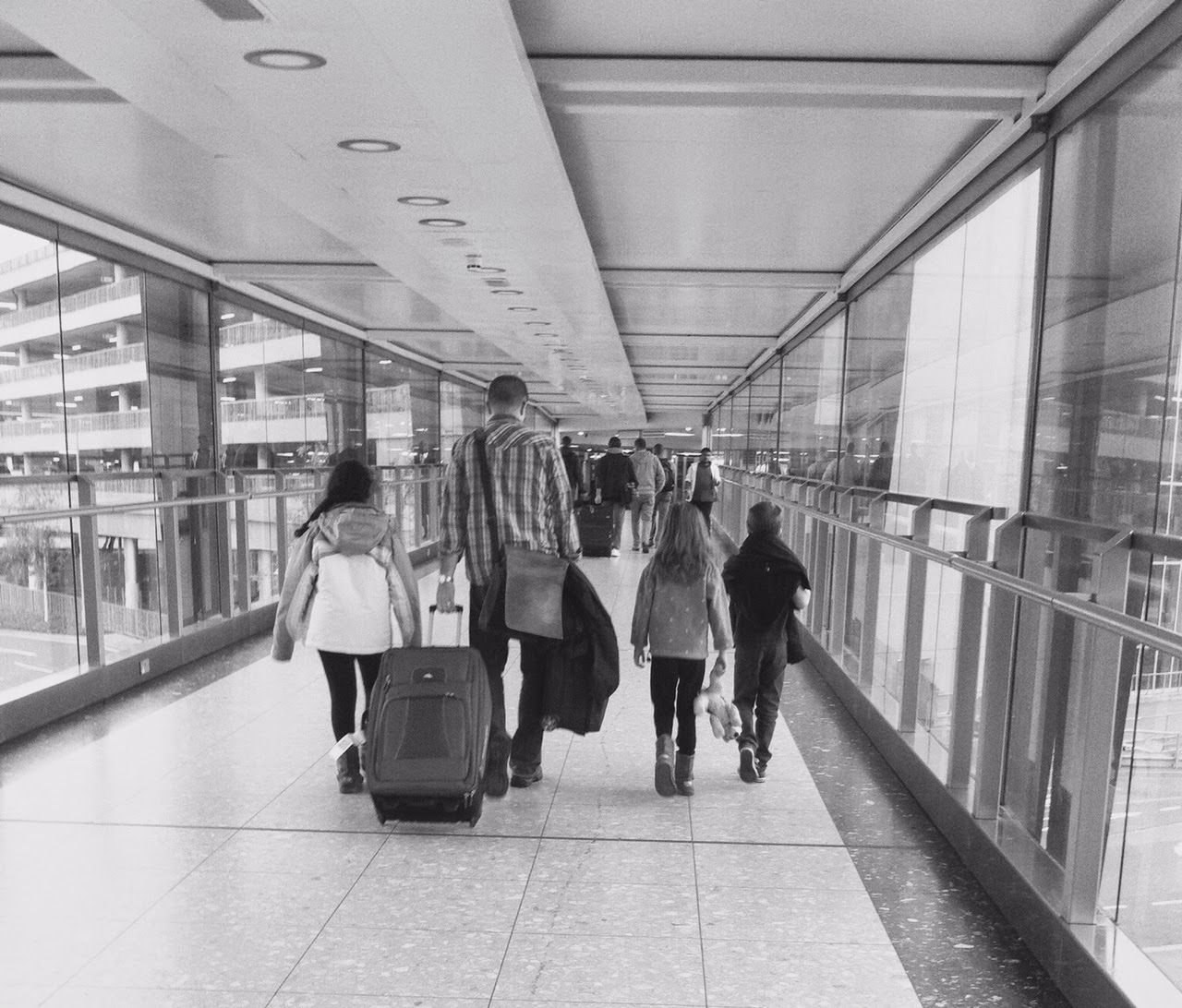 Terminal 3, Heathrow, expat life