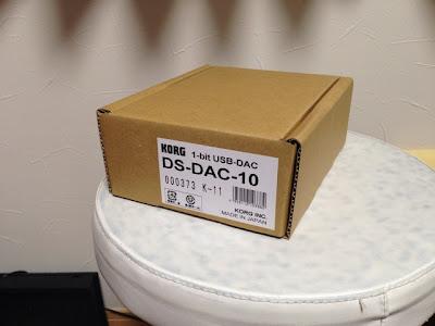 KORGのUSB DAC 『DS-DAC-10』をサウンドエースで手に入れた!