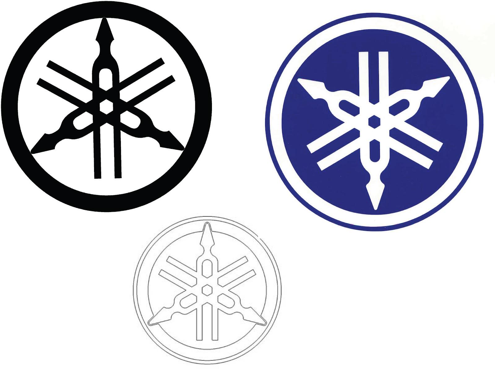 creativecorner yamaha logo sticker