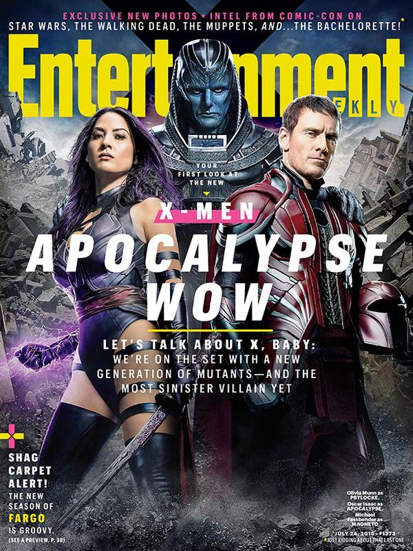 X-Men Apocalipsis en EW