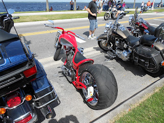 fat motorcycle tire