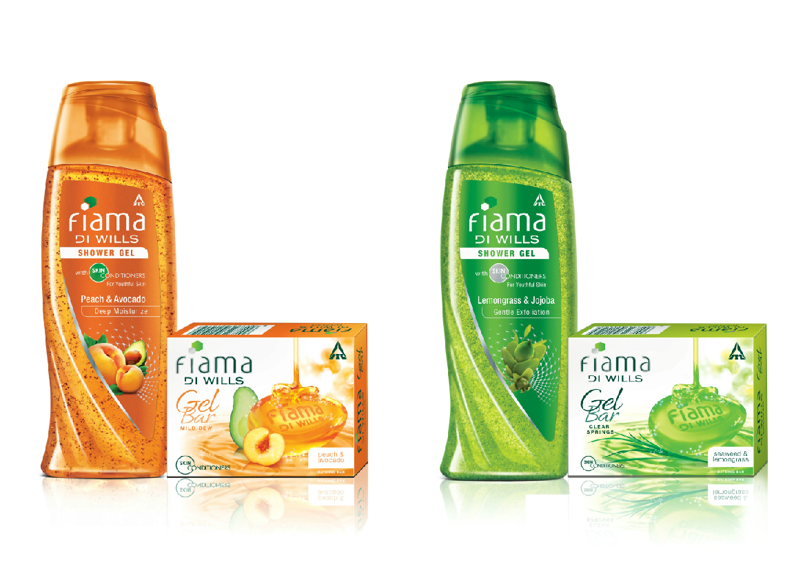 Fiama Di Wills Peach-Avocado and Lemongrass-Jojoba Shower Gels/Gel Bars
