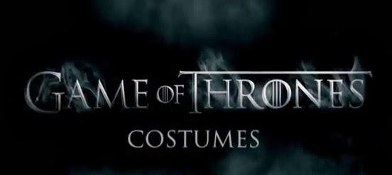 Juego de Tronos vídeo producción costumes ropajes - Juego de Tronos en los siete reinos