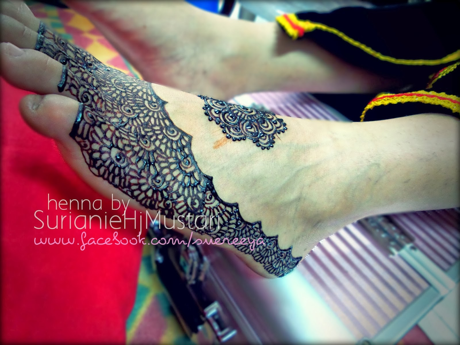 A HENNA ARTIST39S DIARY Henna For Bella Meruntum Putatan