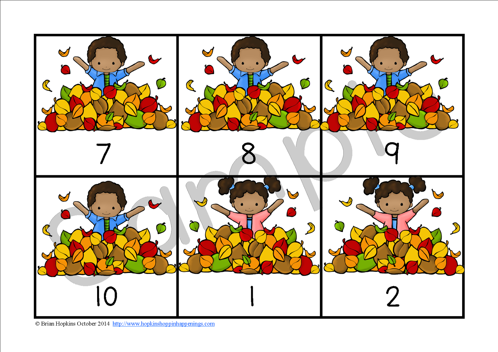 A Bundle of Fall Centers 2nd Grade