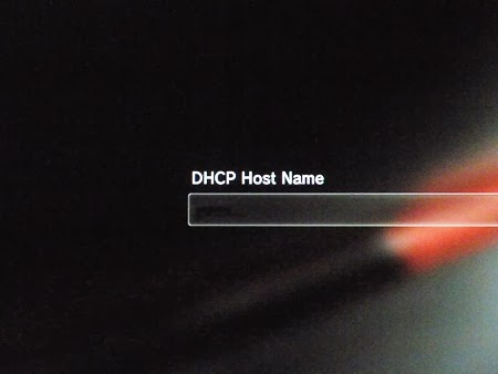 Konsola PS3 - DHCP host name setting