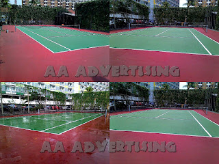 Jasa Pengecatan Lapangan Tennis