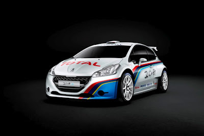 Peugeot 208 Type r5 front