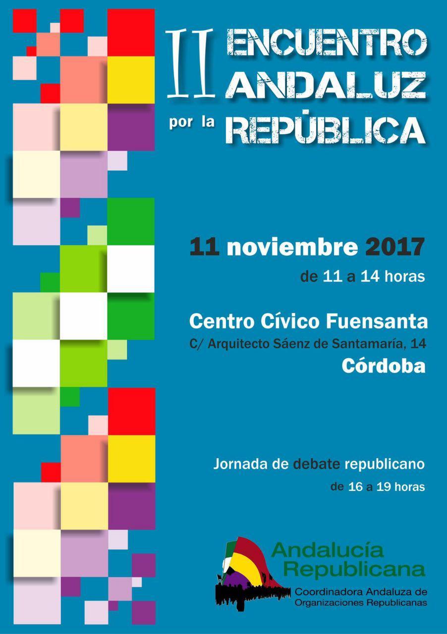 II Encuentro Andaluz por la República