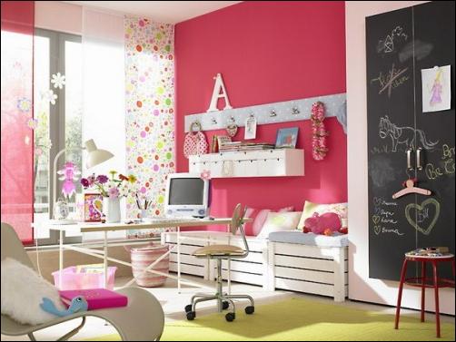 Fun Girly Storage Ideas | Room Design Inspirations