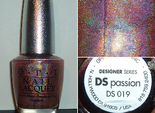 OPI Designer Series DS Passion