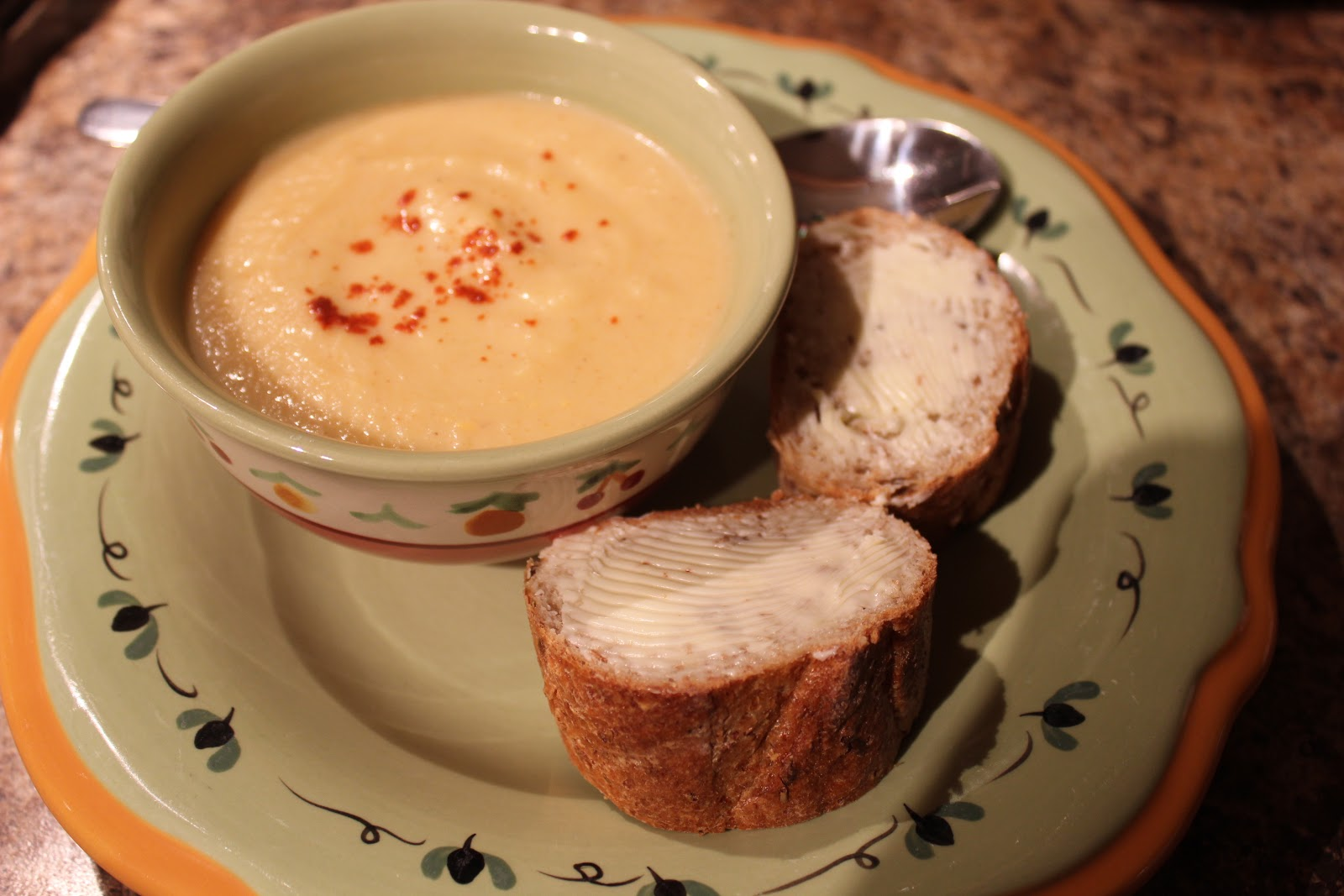 Happy Canadian Home: Smoked Paprika & Rutabaga Soup