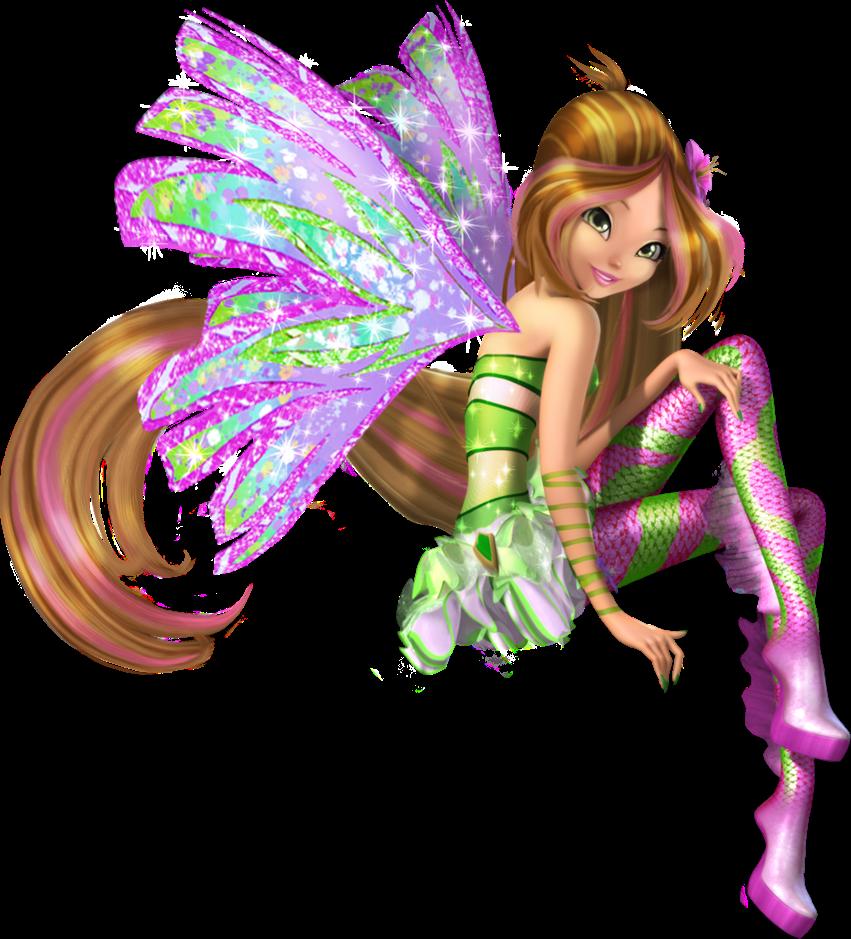 Winx club fairies flora 39 s sirenix in 3d - Winx club sirenix ...