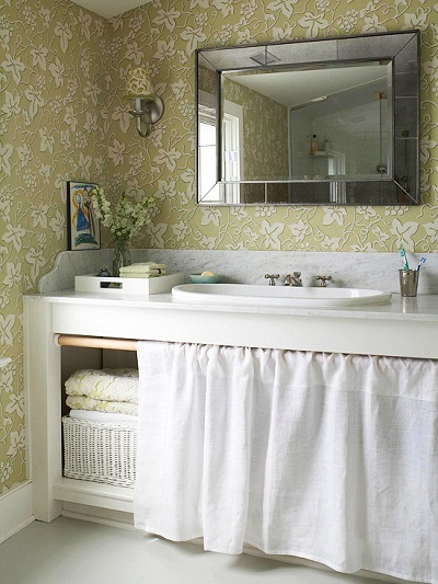 Woomanhood for How to make a small bathroom look nice