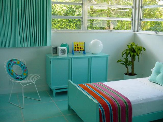 decoracao quarto azul turquesa e amarelo:Casa da Nane: As Cores na Decoração – Azul Turquesa