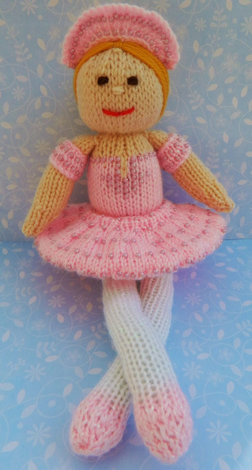 Knitting Pattern Ballerina Doll : Edith Grace Designs - Original Doll & Toy Knitting ...