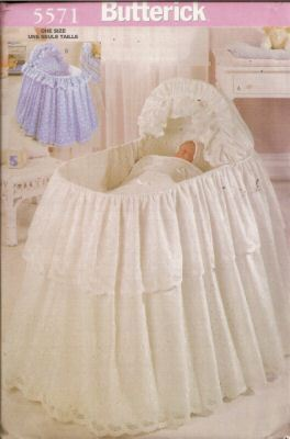 Bassinet Skirt Pattern 110