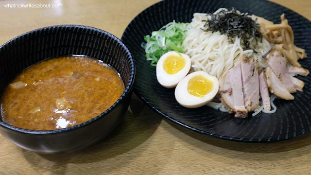 Neil Writes About Ramen Iroha's Tokyo Ramen Show winning Ramen Tsukemen