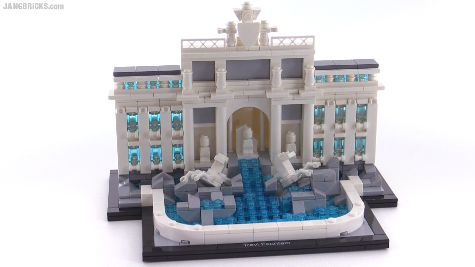 lego architecture trevi fountain review! set 21020