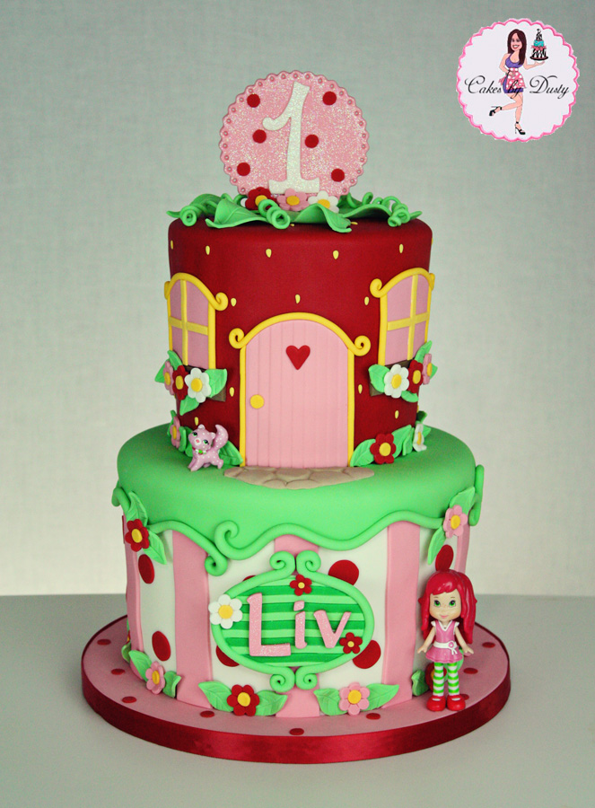 Cakes by Dusty: Liv's Strawberry Shortcake Cake