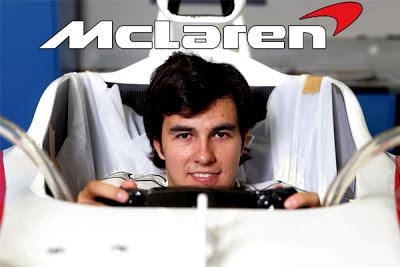 Checo Pérez camino a la Fórmula 1