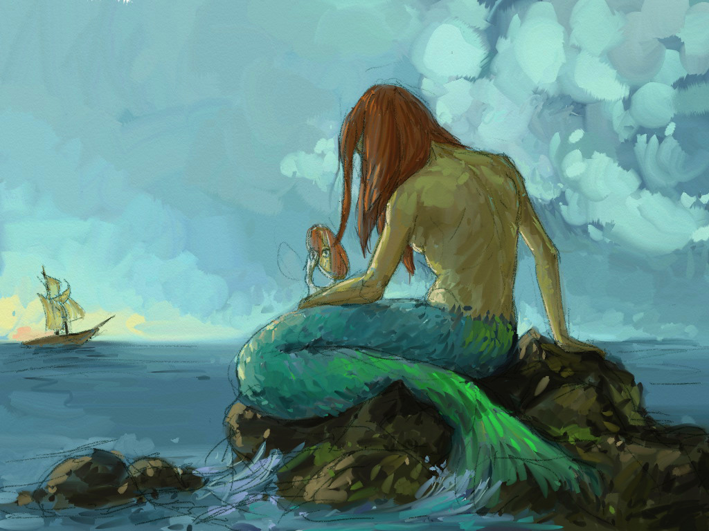 Mermaids wallpapers animals library
