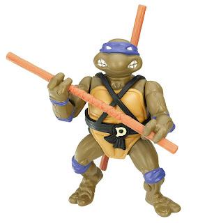 Playmates Teenage Mutant Ninja Turltles TMNT Classic Collection Donatello Figure