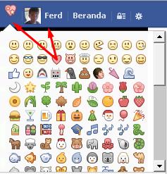 Cara Menggunakan Emoticon Terbaru Facebook