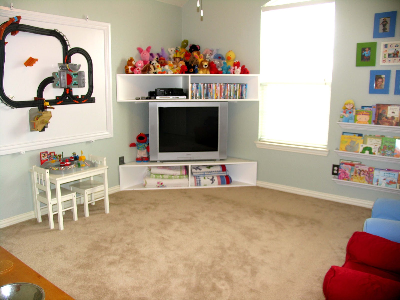 Style with cents for the kids for Tv stand kids room