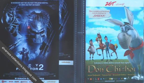 movie flyers - Alien vs Predator 2, Donkey Xote