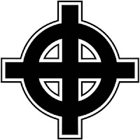 Celtic cross, reappropriated as a symbol of Christian neo-fascism