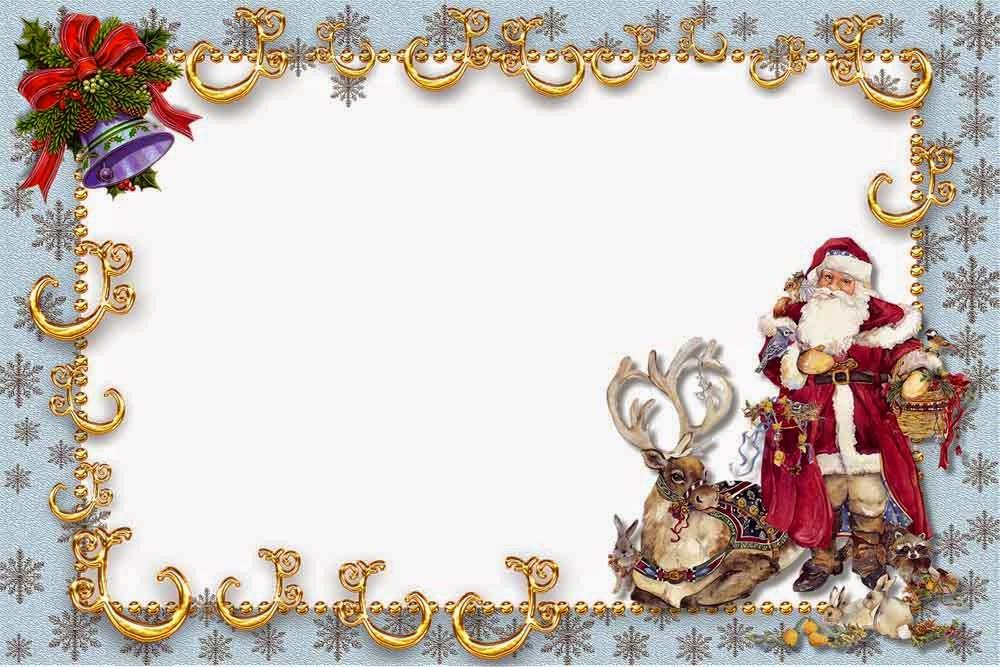Скачать рамки для новогодних поздравлений бесплатно