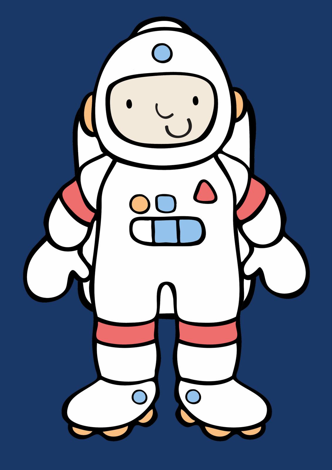 astronaut stencil template - photo #40