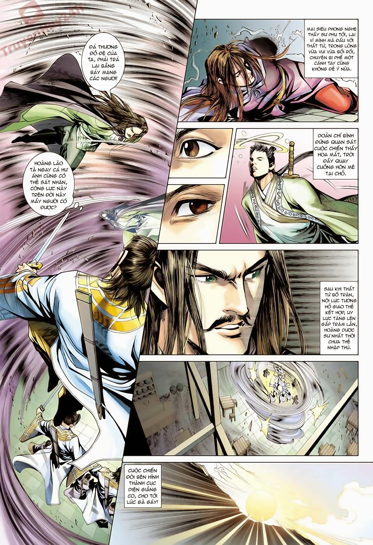 xem truyen moi - Anh Hùng Xạ Điêu - Chapter 63 : Mai Siêu Phong Chi Tử