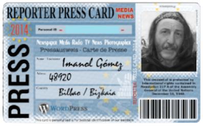 BLOGGER / REPORTER
