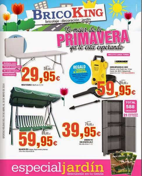 bricoking ofertas primavera mayo 2014
