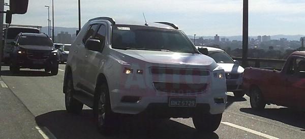 Nueva Chevrolet TrailBlazer para Argentina 2013