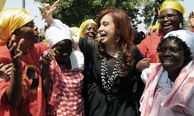 Cristina en Angola