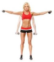 Ejercicio para hombros, elevación lateral
