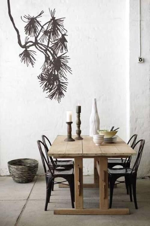 Decoracion actual de moda paredes decoradas con dibujos - Paredes decoradas con papel ...