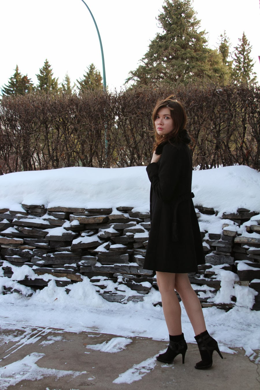 All Saints Dress, Dee Dee, personal style, swarovski cuff, banana republic, winter fashion