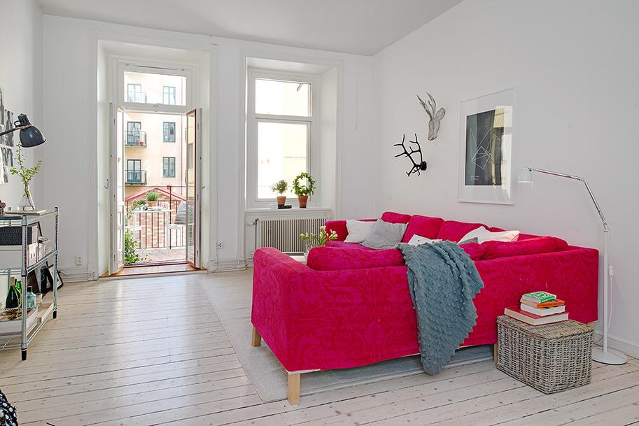 Apartamentos decoracion nordica for Casas nordicas decoracion